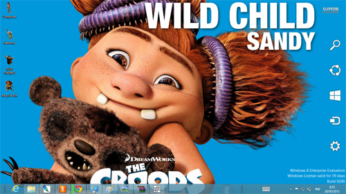 The Croods Theme For Windows 7