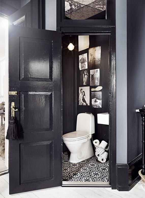 W.C. designed by Marie Olsson Nylander | Image via KK Living