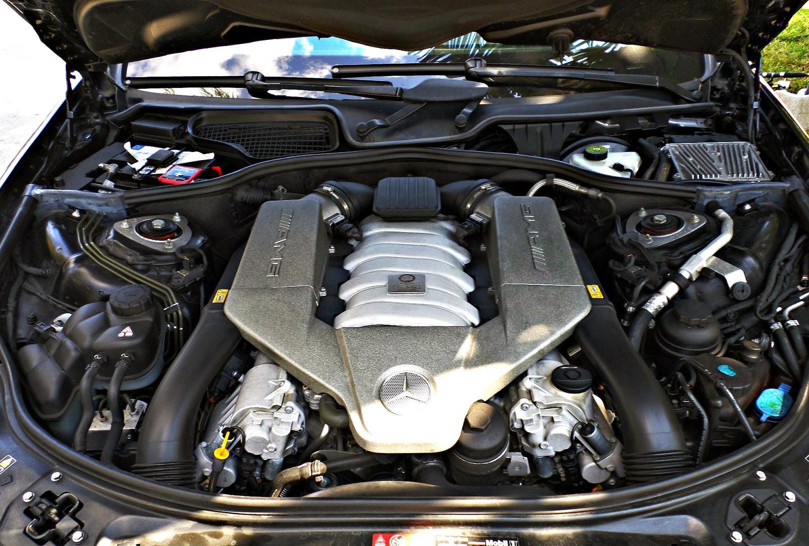 w221 amg engine