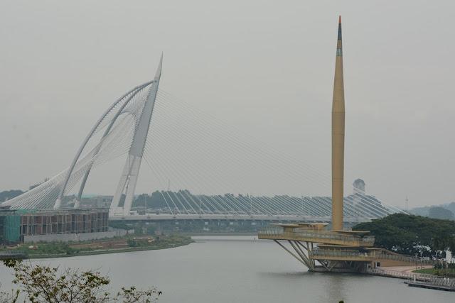Bridge Putrajaya sail