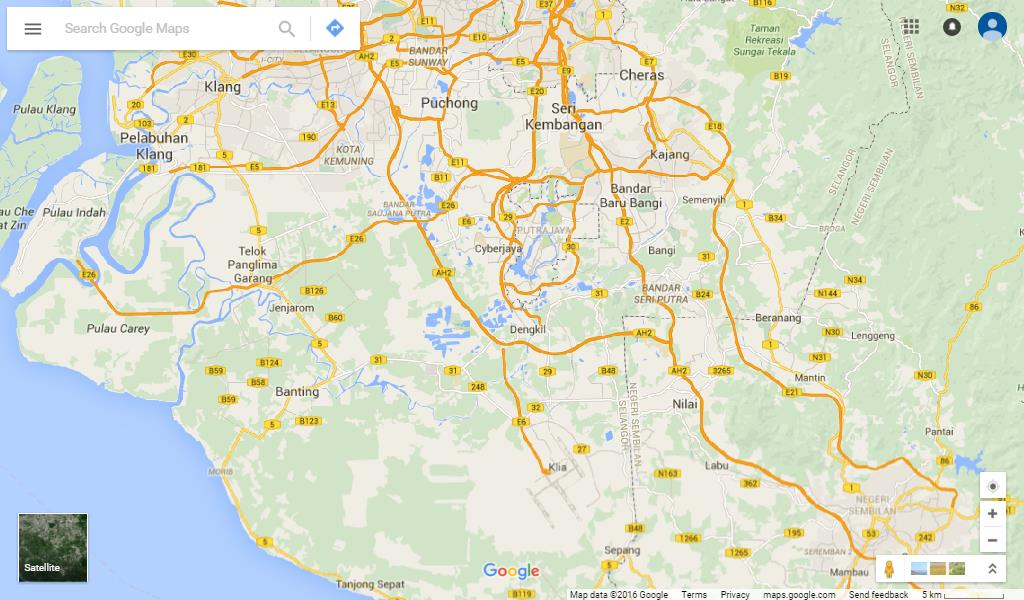 ZMT Coverage - Selangor (South)