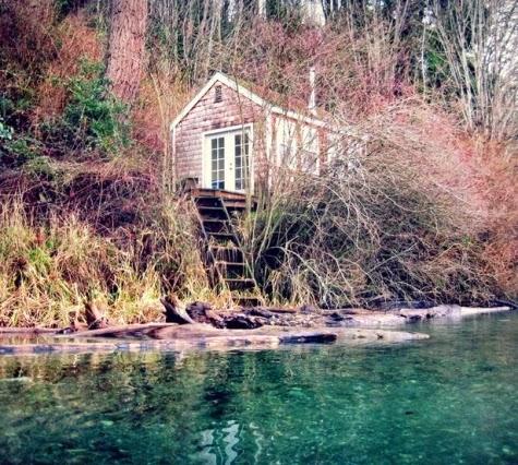 tiny coastal cottage