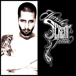 Marcelo Scream Tattoo