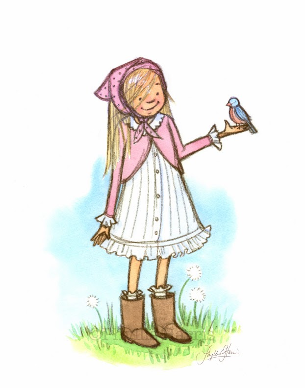 http://phyllisharrisdesigns.bigcartel.com/product/wall-art-print-spring-girl-with-bluebird-nursery-art
