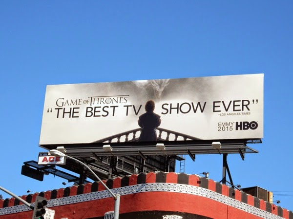 Game of Thrones season 5 Emmy 2015 billboard