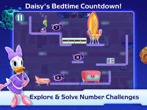 Daisy's bedtime countdown
