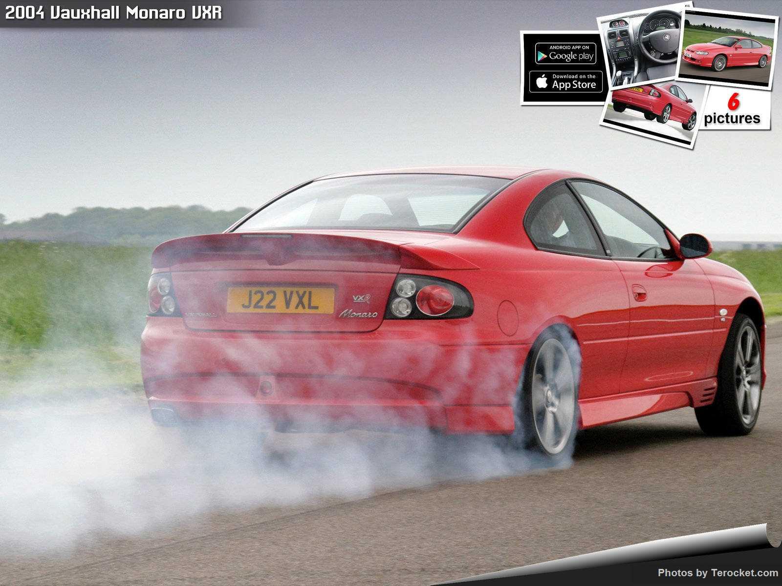 Hình ảnh xe ô tô Vauxhall Monaro VXR 2004 & nội ngoại thất