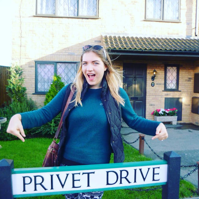 privet drive harry potter london