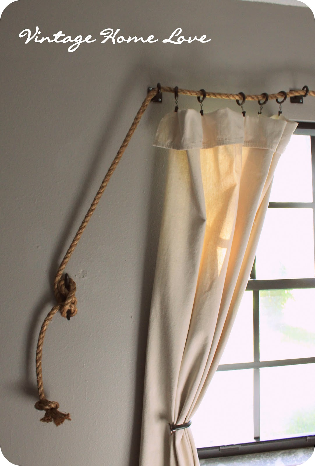 Nautical Rope Curtains -
