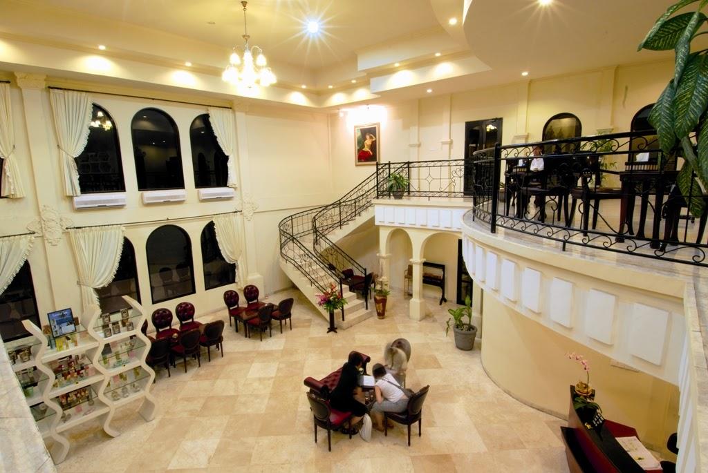 Bali Ratu Spa's lobby
