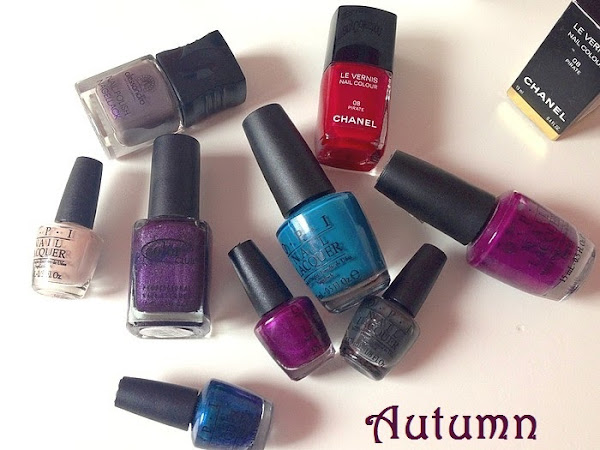 ANTUMN NAIL POLISHES