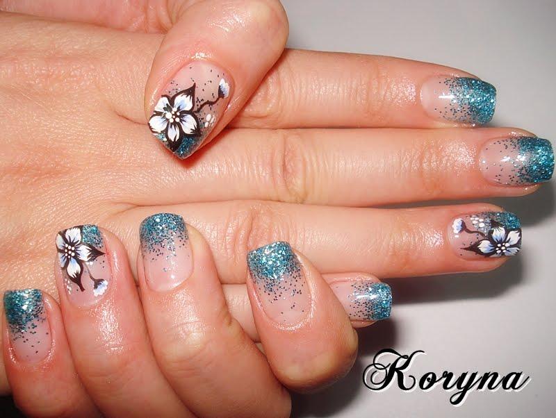 My Nails: Glitter uv gel nails