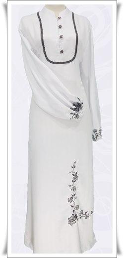 Model Baju Gamis Terbaru Pandu Mid
