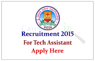 Sri Padmavatimahila Visvavidyalayam:Tirupathi Recruitment 2015 for the post of Academic Cunsultant and technical assistant