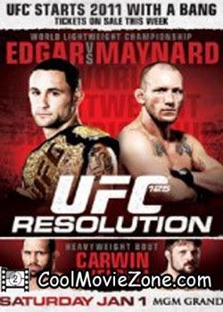 UFC 125 Resolution (2011)
