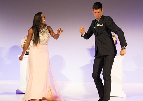 Djokovic, Serena was selected as the number one seed US Open