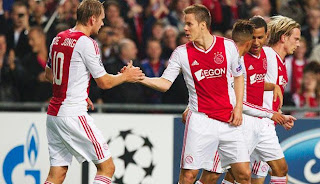 Hasil Akhir Ajax vs City 3-1
