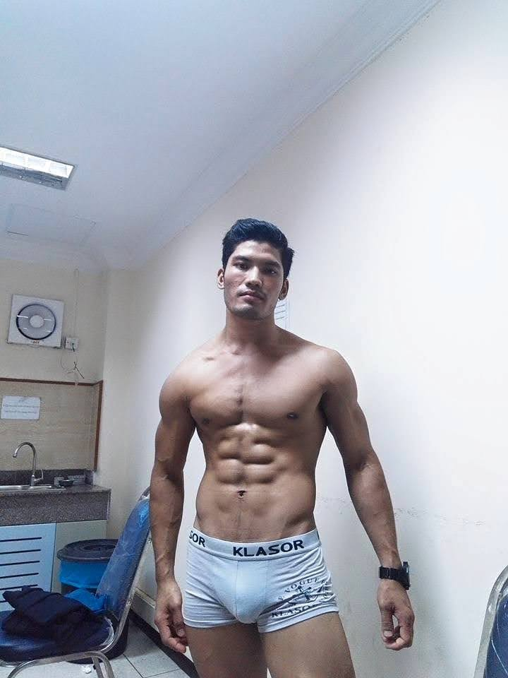 Naked myanmar men models