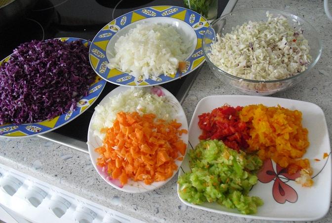 La buena cocina f cil hojaldre de lombarda for Cocinar col lombarda