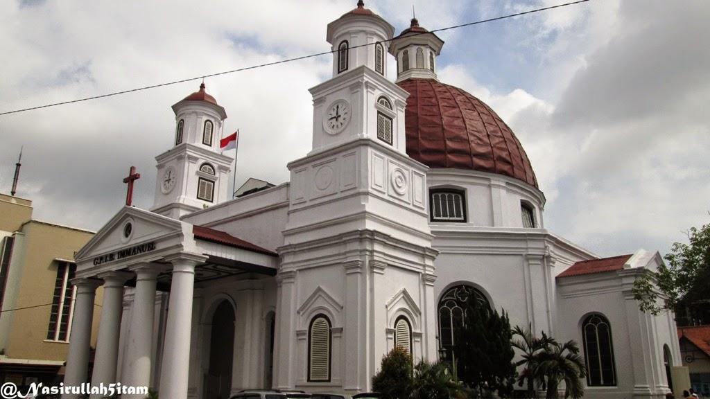Gereja Bleduk di Kota Lama, Semarang