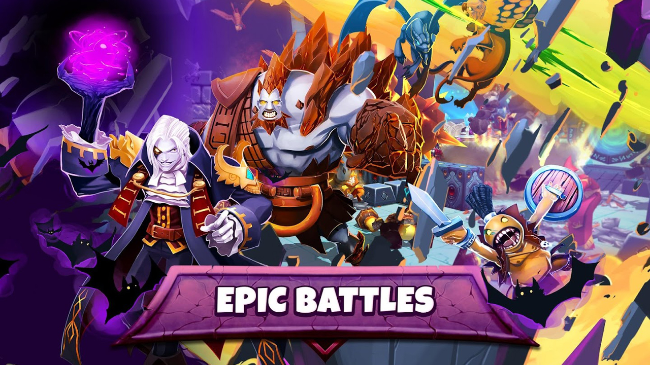 Dungeon Battles Gameplay IOS / Android