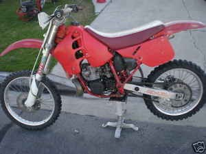 owners manual download honda cr125 1986 89 repair manual rh manual owner blogspot com 1989 honda cr125 owners manual 1987 Honda CR125