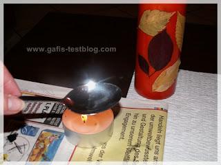 Löffel erhitzen- Kerzen basteln