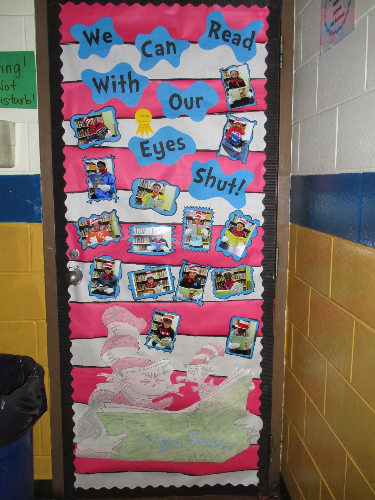Great Classroom Decor ~ Simply special education dr seuss door