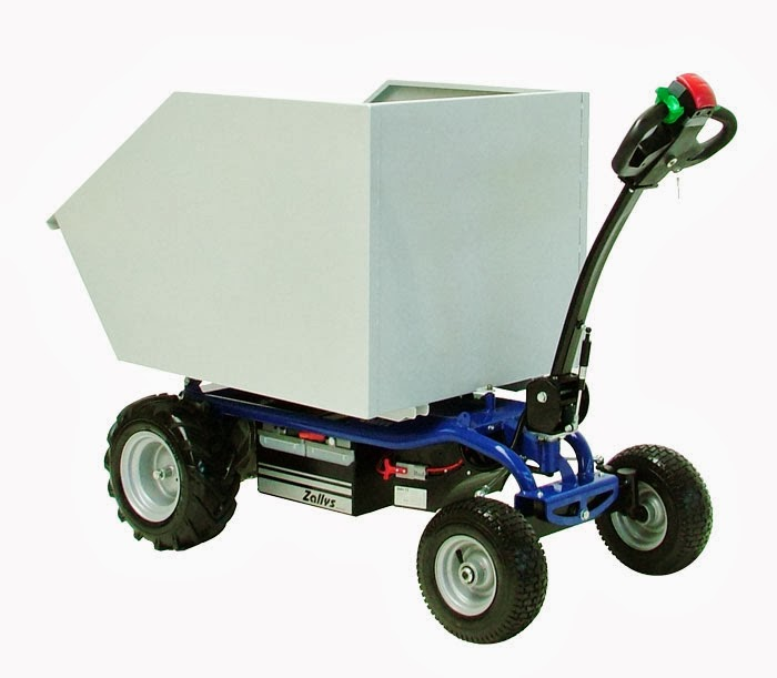 Powered Cart Electric Platform Truck Mod Jespi Made By Zallys