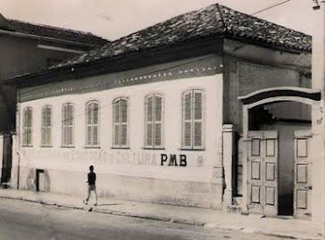 Predio onde hoje funciona o Museu Municipal