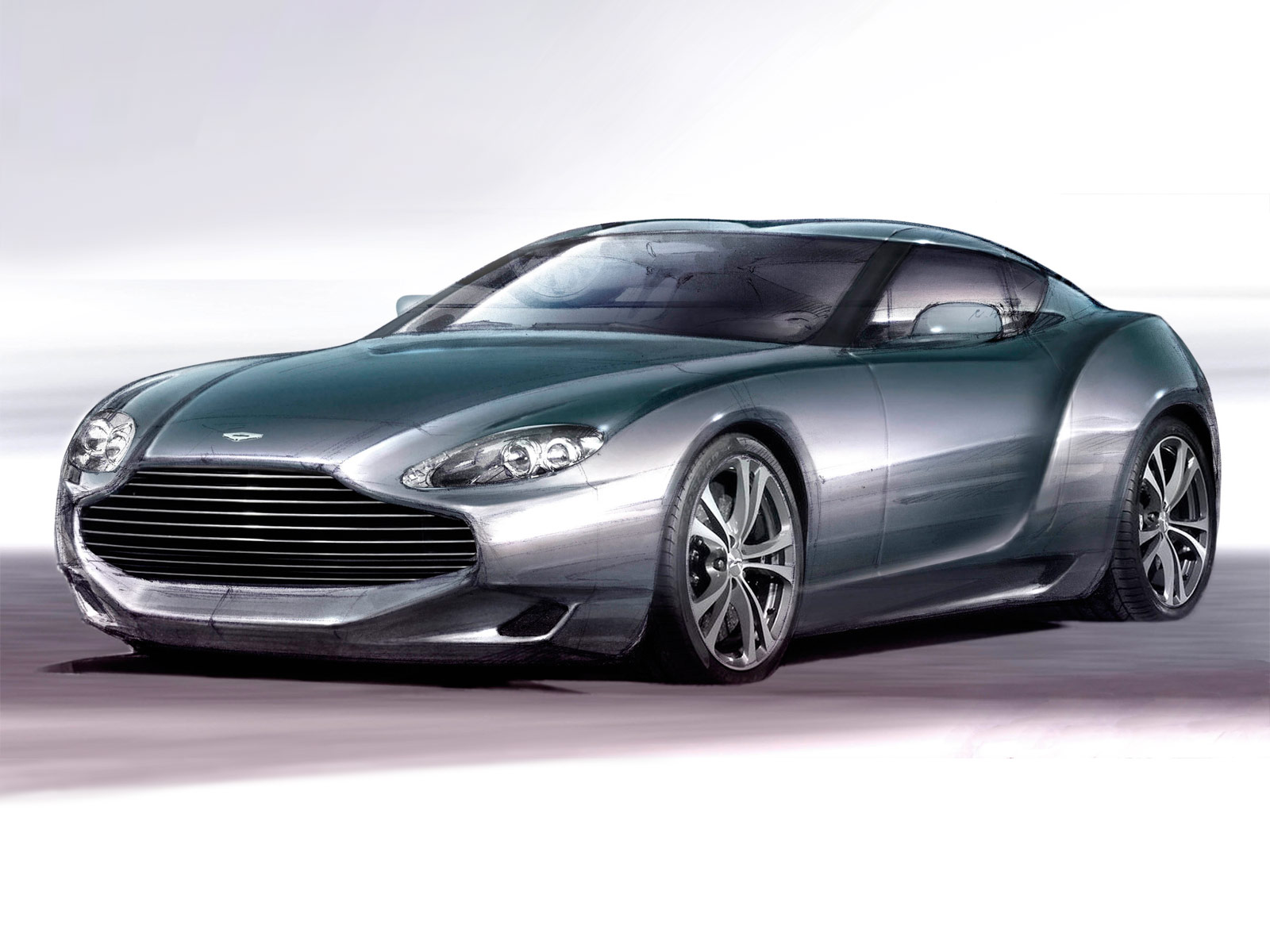 Aston Martin Sketches By Zagato Supercar Sketches Gallery