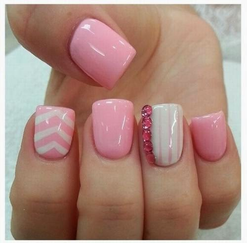 Nail design ideas for short nails nail art design 2014 easy nail designs for short nails prinsesfo Images