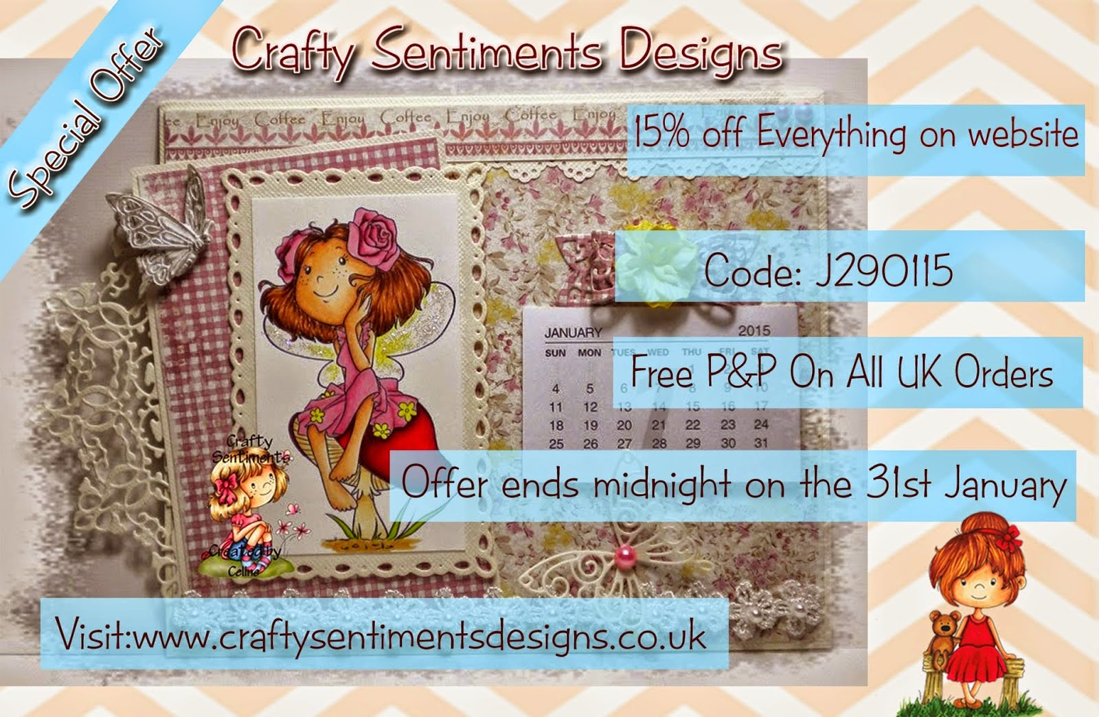 Crafty Sentiments Designs Sale!!