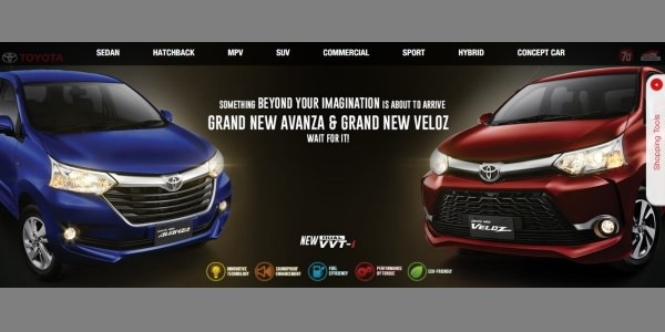 Toyota Grand New Avanza dan Grand New Veloz 2015