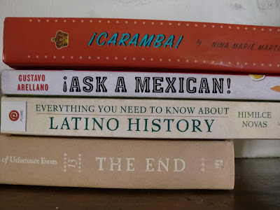 1<br>¡Caramba!  <br>¡Ask a mexican!  <br>Everything you need to know about latino history  <br>The end  <br>-Yvonne Romo