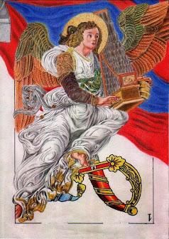 Angel tocant l'organ