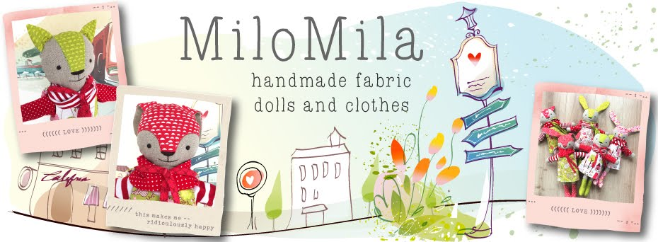 MiloMila Handmade Fabric Dolls and Clothes