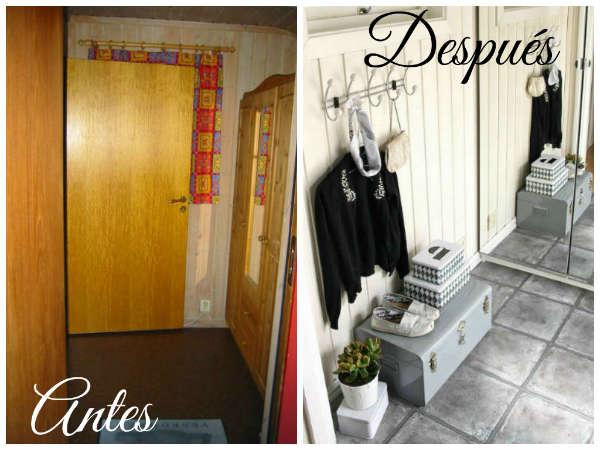 Hall decorar tu casa es - Decoracion de casas antes y despues ...