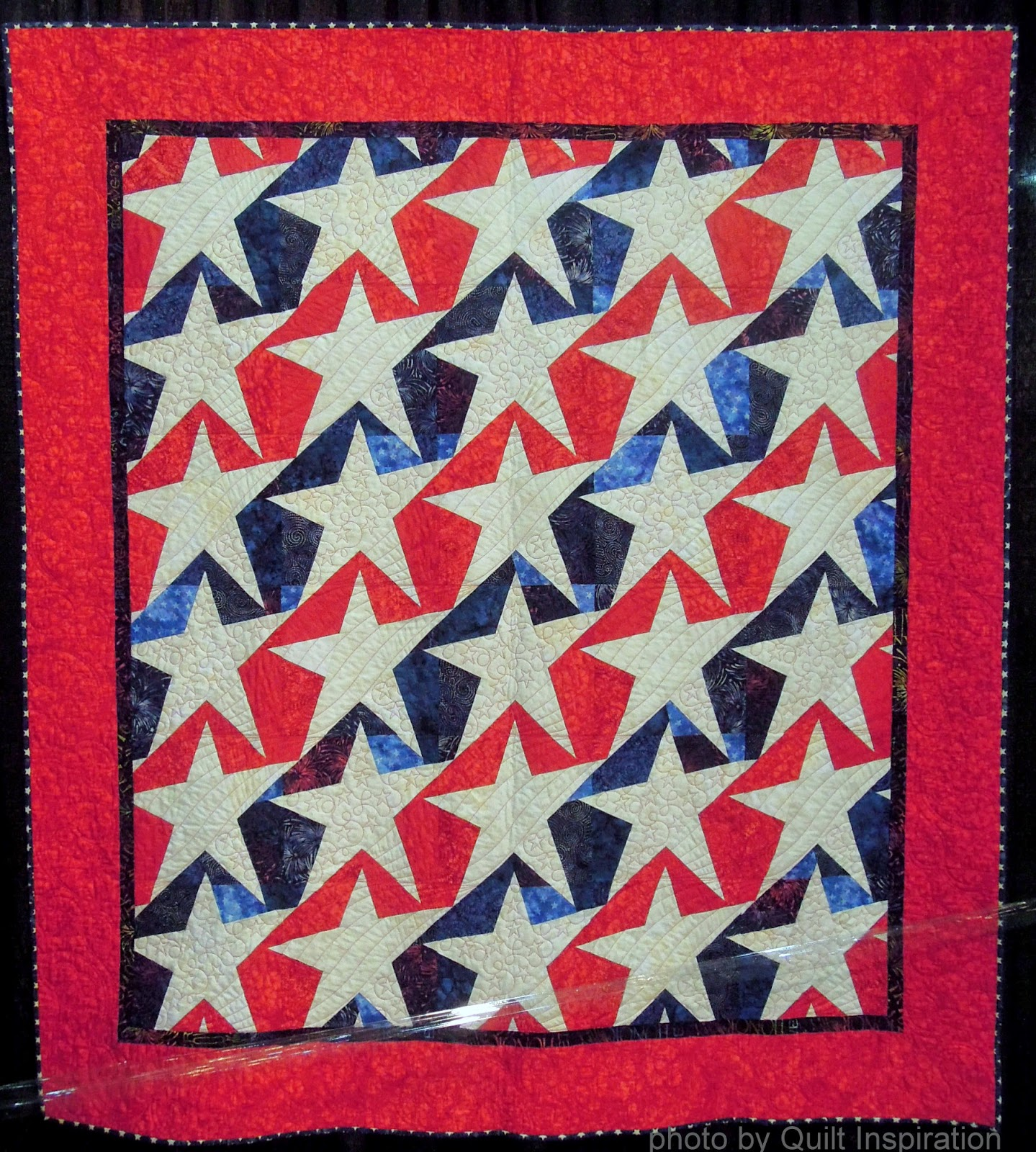 Quilt Inspiration: Quilted in Honor : stars and stripes quilt - Adamdwight.com