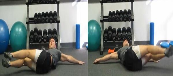 Hướng dẫn tập cơ bụng