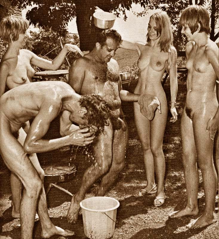 family 1960 nudist naturist