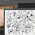 Manipulasi Photoshop Keren Doodle yang Sedang Populer saat Ini
