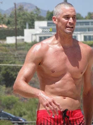 Scott Lane Shirtless at the NVL Malibu 2011
