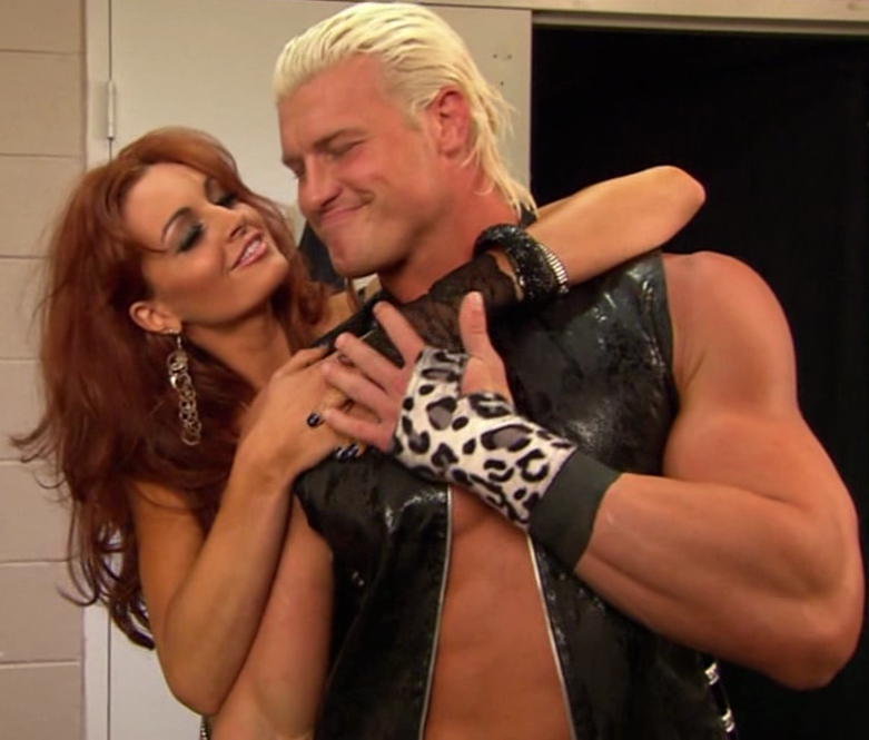 wwe wallpapers   wwe 2013: dolph ziggler and maria