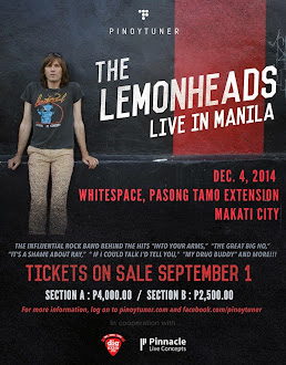The Lemonheads Live in Manila