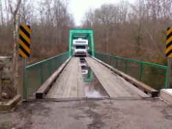 Horizon Seeker crosses the Duck River