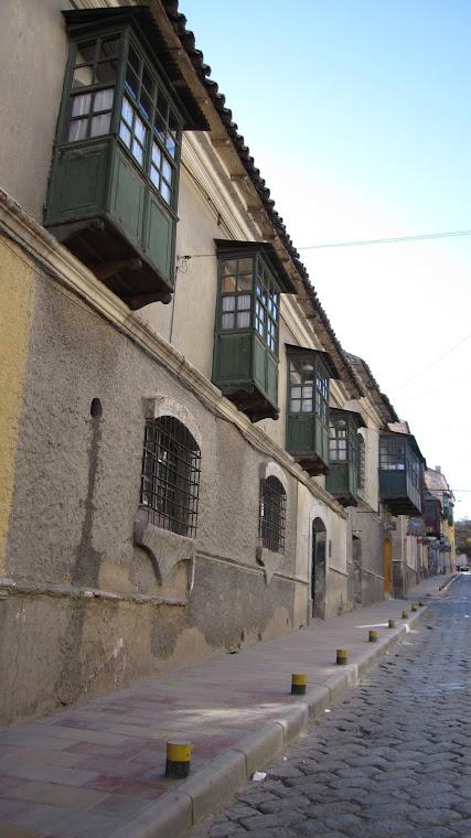 Calle Cobija - agosto 2010
