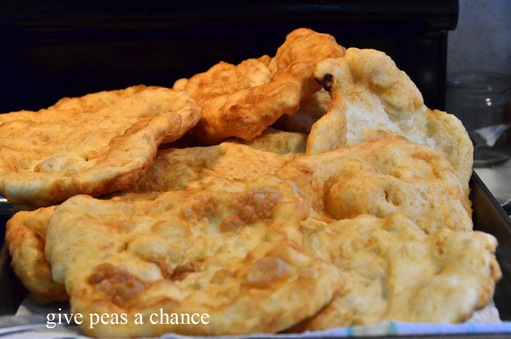 Give Peas a Chance: Indian Fry Bread
