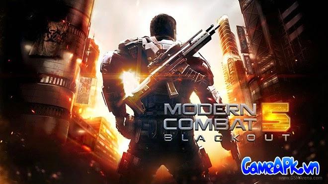 Modern Combat 5: Blackout v1.0.0p hack full đạn cho Android