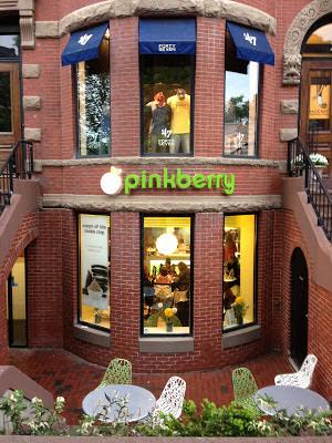 pinkberry newbury street boston massachusetts